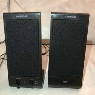 Hyundai 2.0 multimedia speaker H200 喇叭 擴音器