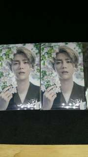 Yes card  Sticker Card