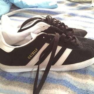 Adidas Gazelle II black white