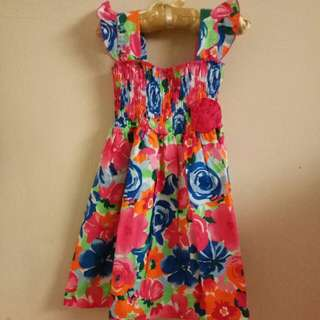 Dress Bunga Kidz Too