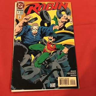 "Robin Vol 4 #2  1993 ""Busted""  #comics #batman"