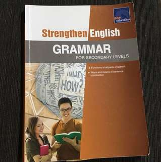 Grammar workbook for secondary levels
