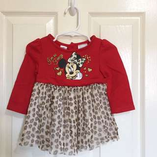 Minnie Mouse Tutu top