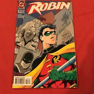 "Robin Vol 4 #3 1993 ""Clueless""  #robin #batman #comics"