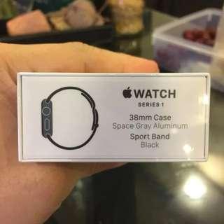 Apple Watch Series 1 38MM Space Black BNIB