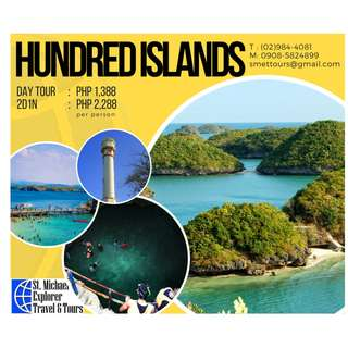 Hundred Islands Tour