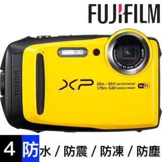 100%全新 富士 - FinePix XP120 4防 數碼相機 《防水/防震/防凍/防塵》 Digital Camera Yellow colour