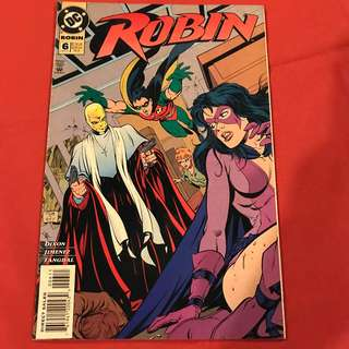 "Robin Vol 4 #6 1994 ""Benedictions, Part Two: Deathangel"" #comics #batman #robin"