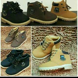 Timberland Inspired Boots For Kids