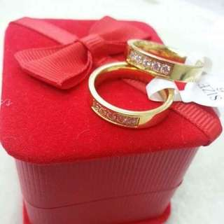 Stainless couple ring size : 5,6,7,8,9,10