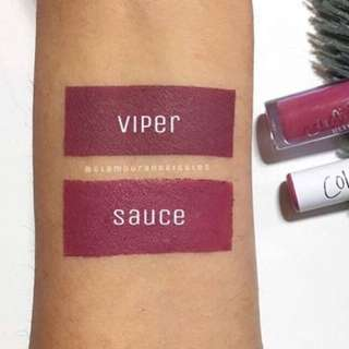 Direct Transfer , Colourpop Instock! Sauce Lippie Stix