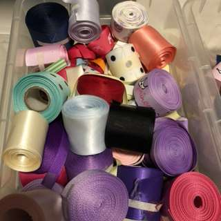 Grosgrain ribbons and crafts