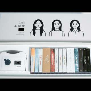 S.H.E 16th anniversary cassette set