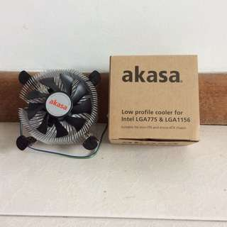 Akasa Low Profile Cooler for Intel LGA 775 & LGA 1156