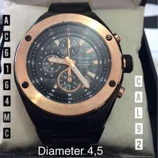 Jam Tangan Pria Cowok Original Asli ALEXANDRE CHRISTIE AC6164MC CaL92 Diameter 4,6