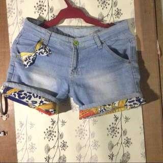 Trendy Maong Shorts