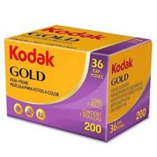 35mm Films Kodak Gold