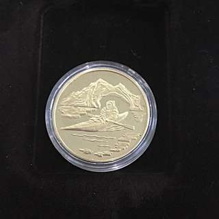 1980 Canada 1/2 oz gold proof coin
