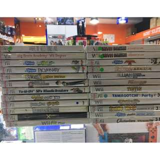 Used wii gmaes 3 for $20