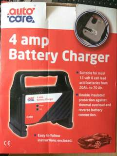 Auto Care 4 Amp Car Battery Charger