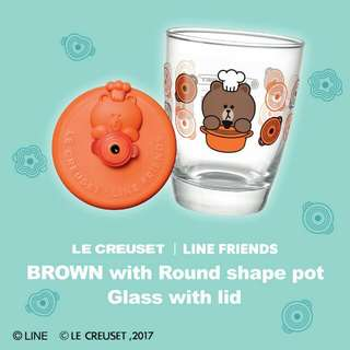 7.11 Line Friends Orange Brown