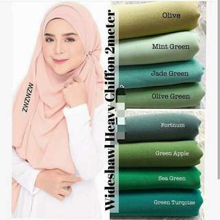Heavy Chiffon Shawl (See other listing for more colours)