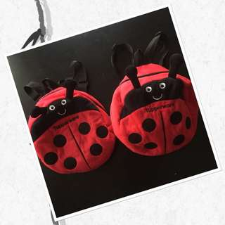 TUPPERWARE BAG LADYBIRD