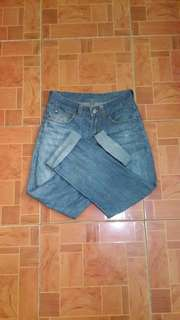 DENIM JEANS DARK WASHED