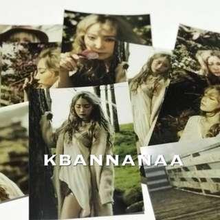 Taeyeon <I> official postcard set