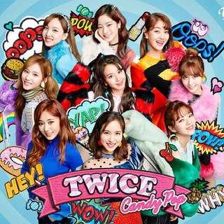 Twice 最新日單 Candy pop