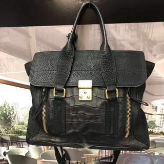 優惠特價Philip Lim Leather Handbag
