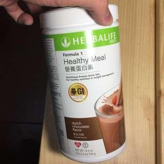 HERBALIFE康寶萊 HEALTHY MEAL營養蛋白素朱古力味(包郵)