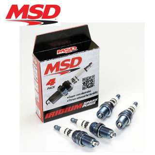 MSD Iridium Spark Plugs For Proton Saga BLM / FLX / FL