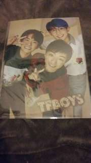 Yes Card A4 File Folder  TF BOYS