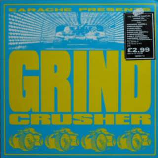 Vg+ grindcrusher record vinyl metal comp uk press