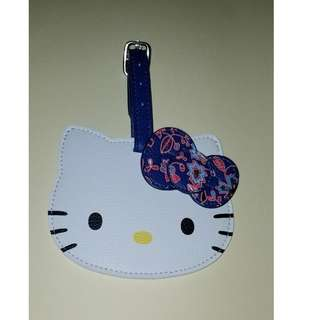 Sanrio Hello Kitty 新加坡 Singapore Airlines 行李牌 Luggage Tag
