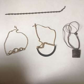 Necklaces (15hkd per piece)