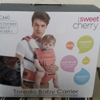 Sweet cherry baby carrier brand new
