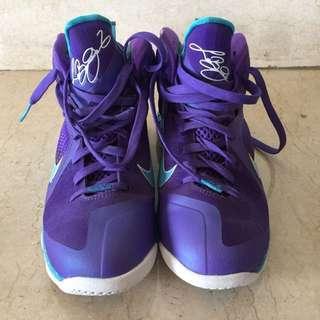 Sale Sepatu Basket Nike Lebron 9 Summit Lake Hornets