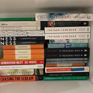 Huge range of books