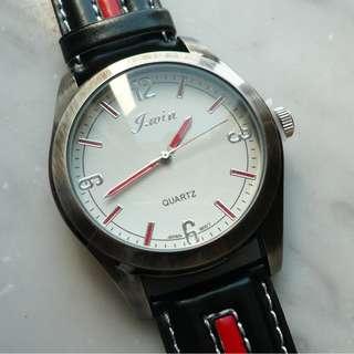 日本錶芯黑色女裝錶 Japan wristwatch