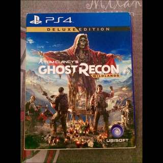 For Sale Ghost Recon Wildlands Deluxe Edition PS4