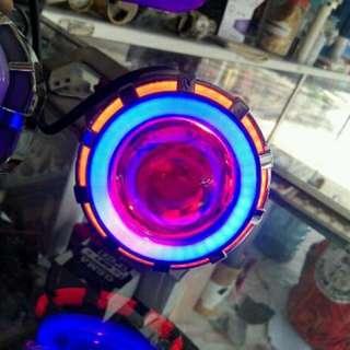 lampu motor cantik 2 biji