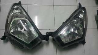 Headlamp/lampu depan myvi icon g spec