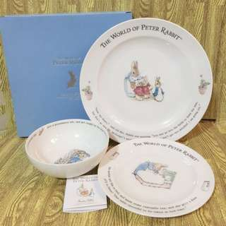 World of Peter Rabbit bowl and plate Set