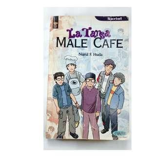 buku novel bekas la tanza male cafe