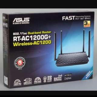 BNIB Asus Router RT-AC1200+