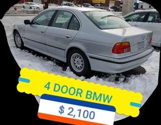 4 DOOR BMW