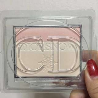 Diorsnow fresh light reveal Color correcting powder 001