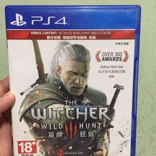 PS4 games the witcher